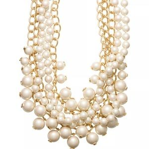 NEW Kate ♠️ Purely Pearl Statement Necklace
